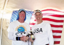 Steve Smitham (IronOaks) and Steve Speight (Chandler) won the silver medal in the 4.5 +60 Men's Doubles at the Battle of the Branches held in Casa Grande.