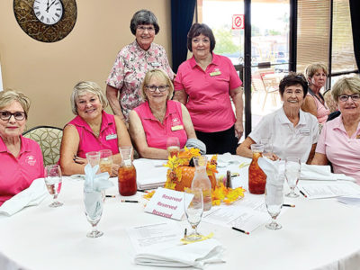 Past presidents of the Cottonwood Lady Niners