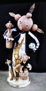Spirit of the Desert President Julie Hemer won Best of Show (and several other ribbons) with her Marionette entry in the Arizona Gourd Society's annual competition. Congratulations to new Grand Master, Julie!