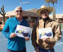 Men's Red Champions: Bruce Beelman and Bill Gosiak