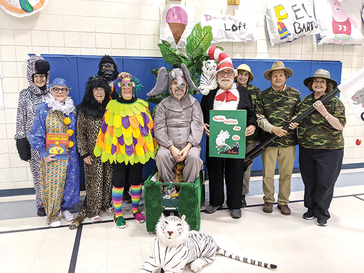 Cast of Horton Hatches the Egg at Fulton Elementary School