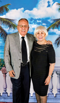 Bob Vogel and Carmen Otero at October, 2017's Havana Nights Dinner Dance. Bob and Carmen really captured that feeling you have when you arrive at the tropical vacation spot you always dreamed about. This was especially true at this Cotillion dance where we were transported to a special Havana Night at a luxurious seaside hotel. Their table is always full of people who love to dance and enjoy each other's company. We want to thank them for making each Cotillion dance a fun place to spend an evening. We are looking forward to seeing them at the next dance.