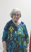 Sheliagh Dillion, longtime supporter of the Auxiliary, is now serving as Conductress.