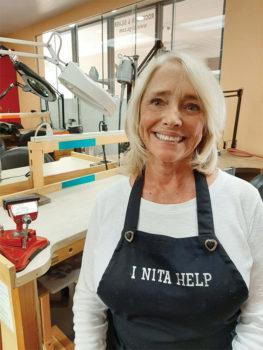 """I Nita Help"" Nita Metzbower to the rescue"