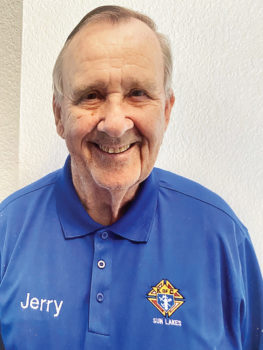 Jerry Higgins, chair of successful Sun Lakes K of C Charity Drive