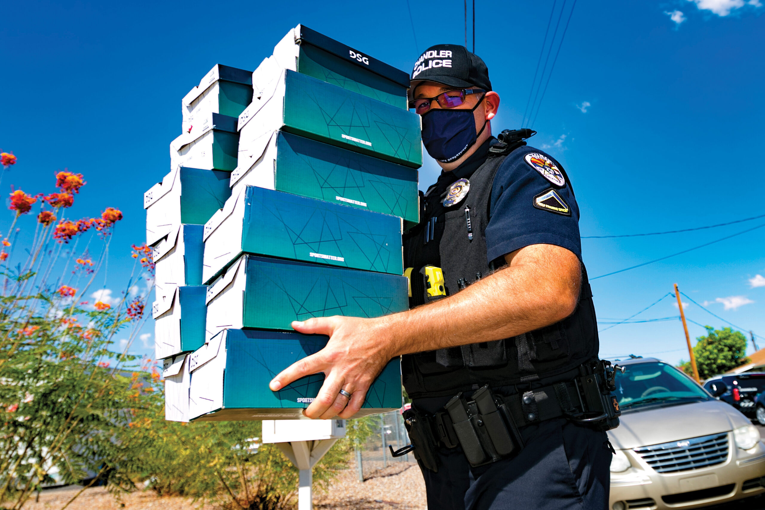 Chandler Police Department Officer Hansen