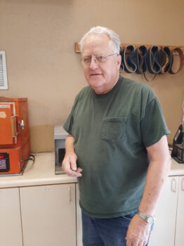 Tony Thompson, our Friendly Faceting Fanatic