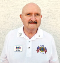 Bob Glantz, new president of the Sun Lakes Breakfast Lions Club