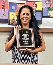 Michelle Capriotti, a special education teacher at Camille Casteel High School, has been named the Sun Lakes Rotary Sandy Lundberg Educator of the Year.