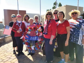 We are a dynamic group of women, the Gila Butte Chapter.