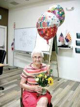 Betty Sanders celebrates her 94th birthday.