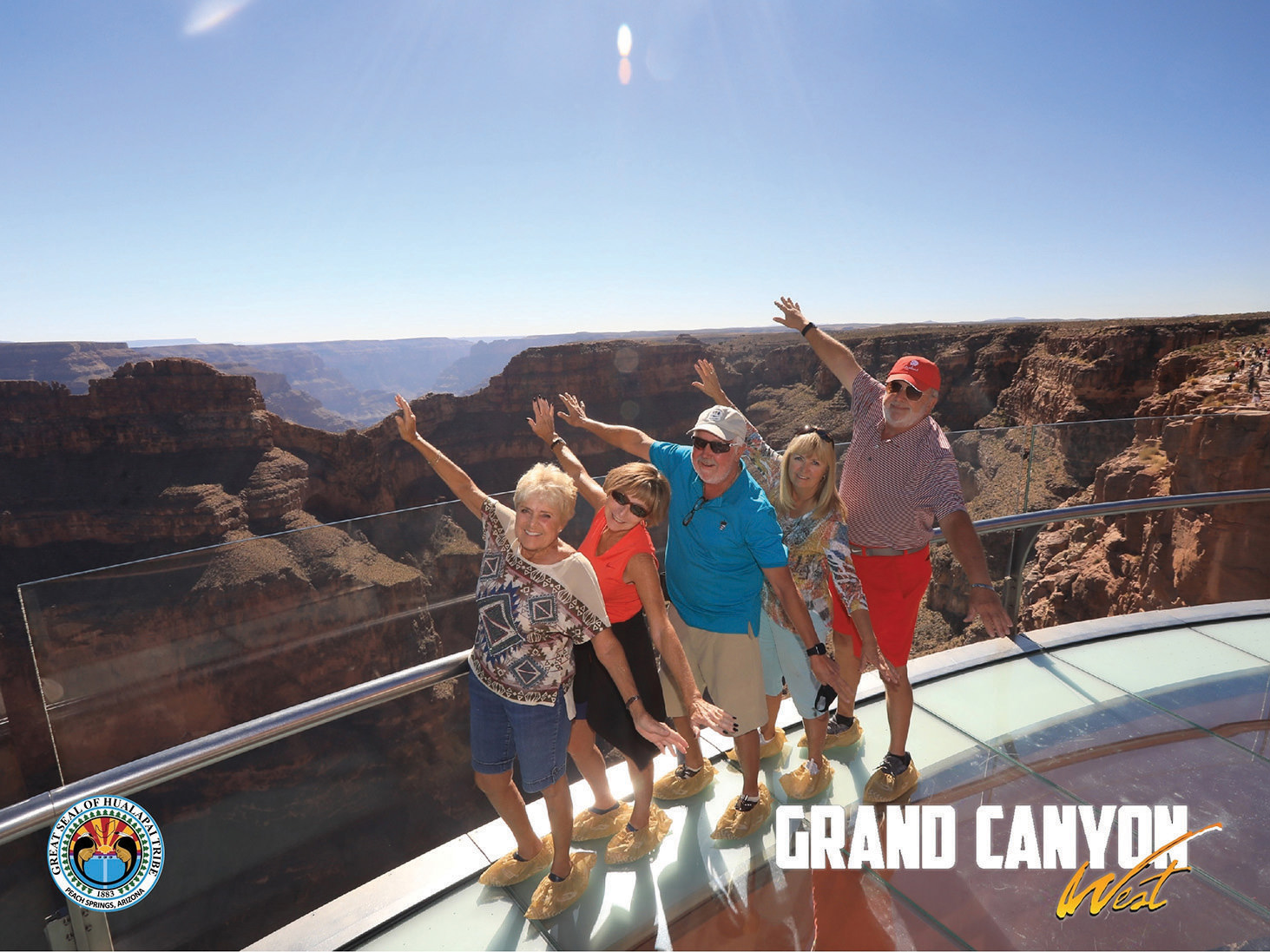 Flying high at the Skywalk