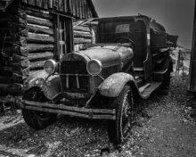 'Old Truck, Gold King Mine' by Lynn Thompson