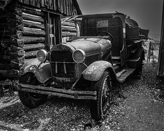 'Old Truck, Gold King Mine' by Lynn Thompson