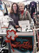 Krista Hansen and Jan Libby of Tiger Lily's Boutique