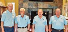 2021 IMGA Executive Board: Ross Serold, Secretary; Bob Clark, President; Dan Jonker, Treasurer; Jerry Pederson, Vice President