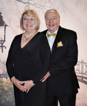 Pictured are Barry Tomsich and Gail Nelson entering the Cottonwood San Tan Ballroom in Sun Lakes on March 14, 2020, for the 'Top Hats and Cocktails Soiree.' Seems like a long time ago, and as it turned out, this was the last dance we were able to enjoy due to COVID-19 concerns and limitations. We are looking forward to reestablishing such gatherings of fun and fellowship with all of our club members and guests. We are especially looking forward to seeing Barry and Gail again when they return from Minnesota next fall.