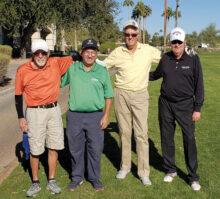 Team Anderson: Bruce McCorkel, Bob Clark, Ed Anderson, and David Mork