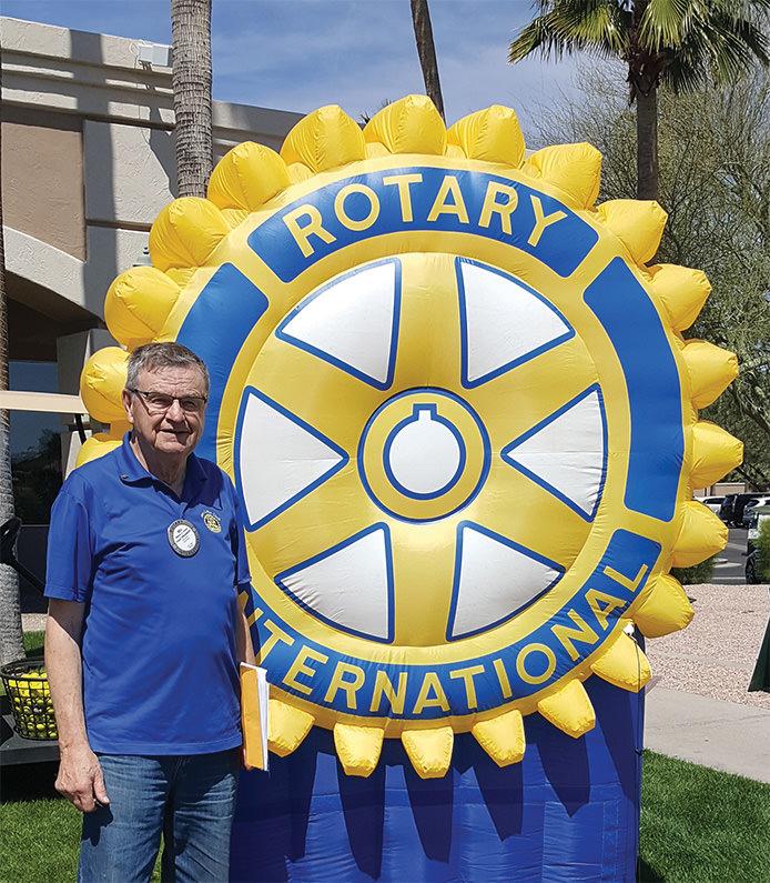 Golf Tournament Chair Bill Schink