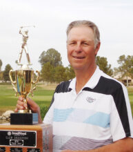 Larry Horner, three-time winner of the Ironwood Cup