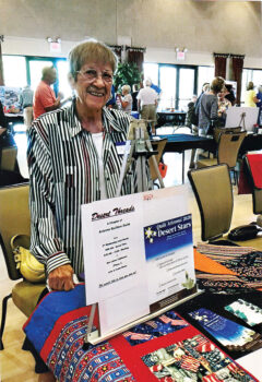 Glenna Reeves speaks about Desert Threads quilters.