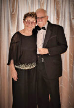 Pictured are John Spinele and Lillian Vale entering the Cottonwood San Tan Ballroom in Sun Lakes on Nov. 10, 2018, for the 'Sequins and Bow Ties Soiree.' This memory was from our first dance at the Cottonwood Country Club. We are looking forward to re-establishing such gatherings of fun and fellowship with all of our club members and guests. We are especially looking forward to seeing John and Lillian again next fall.