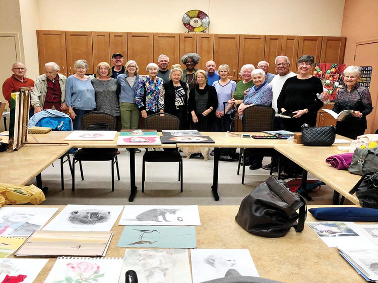 DAC group members at January 2020 Share Your Art event