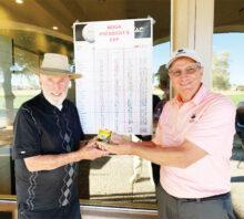 Congratulations to Sid Schwartz for winning the MOGA Presidents Cup.