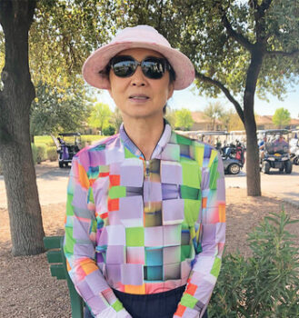 OLGA Club Champion Eun Yoon