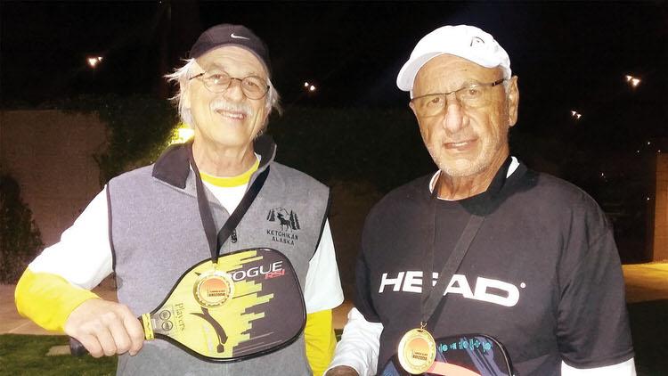 David Zapatka and Lenny Chimino
