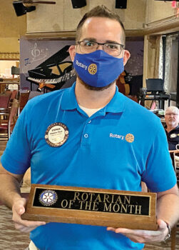 Rotarian of the Month Stephen Phair