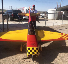 Typical airplane flown at the Cactus Classic at the Southwest Regional Competition