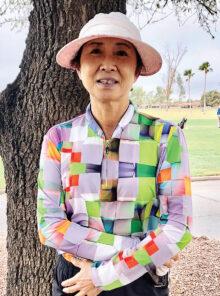 Eun Yoon, OLGA Low Net Champion