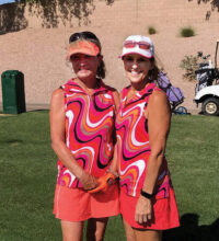It is clear to see from the smiling faces of Mary Dyrseth-Ray and Susie La Salvia that this season was enjoyable for all!