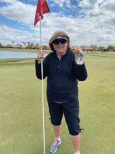 Fran Morin's hole-in-one